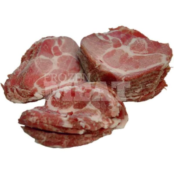 frozenmeat shabushabu pork collar